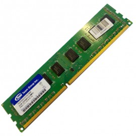 4Go RAM Team Group Inc TED34G1333C9BK DDR3 PC3-10600U 2Rx8 CL9 1333Mhz PC Bureau