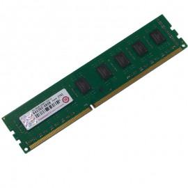 4Go RAM Transcend JM1333KLN-4G DDR3 PC3-10600U 2Rx8 CL9 1333Mhz PC Bureau