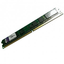 1Go RAM Kingston KTM4982/1G DDR2 PC2-5300 667Mhz 1Rx8 CL6 Low Profile PC Bureau