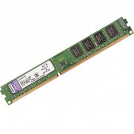 4Go RAM Kingston KVR16N11/4 DDR3 PC3-12800U 2Rx8 1600Mhz Low Profile PC Bureau