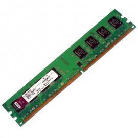 2Go RAM Kingston KVR800D2N6/2G DDR2 PC2-6400 800Mhz 2Rx8 CL6 PC Bureau