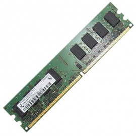 2Go RAM Qimonda HYS64T256020EU-2.5-C2 DDR2 PC2-6400 800Mhz 2Rx8 CL6 PC Bureau