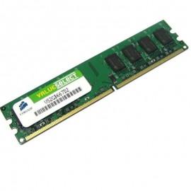 2Go RAM Corsair Value Select VS2GB667D2 DDR2 PC2-5300 667Mhz 2Rx8 CL5 PC Bureau