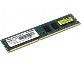 4Go RAM Patriot Memory PSD34G13332 DDR3 PC3-10600 1333Mhz 2Rx8 CL9 PC Bureau