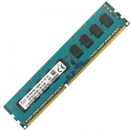 4Go Ram Serveur HMT351U7CFR8C-PB DDR3 PC3L-12800E ECC 2Rx8 240-PIN CL11