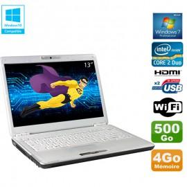 "PC Portable 13.3"" Toshiba Portege M800-11G Core 2 Duo 4Go 500Go Webcam WIFI W7"