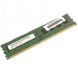 2Go Ram MICRON MT8KTF25664AZ-1G4M1 DDR3 PC3-10600U 1Rx8 1333Mhz CL9 PC Bureau