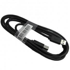 Câble Dell 389G1758LAAM0200DL Type A To Type B USB 3.0 Super Speed Noir NEUF