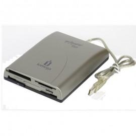Lecteur Disquette Carte SD SM MMC MS Iomega CRE-01B 31238700 USB 7-in-1 Floppy