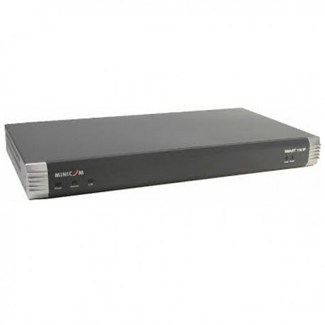 Switch Serveur KVM Rack 16 Ports RJ-45 MINICOM 116 IP 1SU60005/R PS/2 VGA