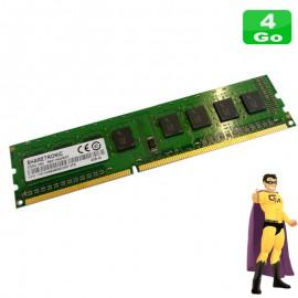 4Go RAM SHARETRONIC SM311NQ08IAF DDR3 PC3-12800U 1Rx8 1600Mhz PC Bureau