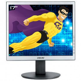 "Ecran Plat PC Pro 17"" SONY SDM-S74 LCD TFT VGA DVI-D 1280x1024 5:4 Gris 500:1"
