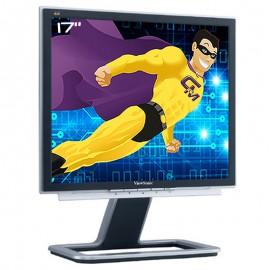 """Ecran Plat PC Pro 17"""" ViewSonic VX724 VS10049 TFT VGA DVI-D 1280x1024 5:4 VESA"""