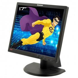 """Ecran PC Pro 17"""" LENOVO ThinkVision L171p 9417-HH2 41A1961 LCD TFT VGA DVI VESA"""