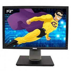 """Ecran PC Pro 19"""" DELL 1909Wf 1909Wb TFT VGA DVI-D 4x USB Audio OUT 1440x900 VESA"""