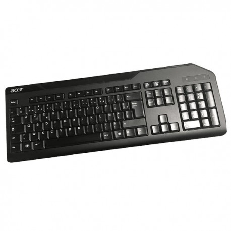 Clavier AZERTY Noir PS/2 ACER SK-9620 T3A002 E145614 PC Keyboard 105 Touches
