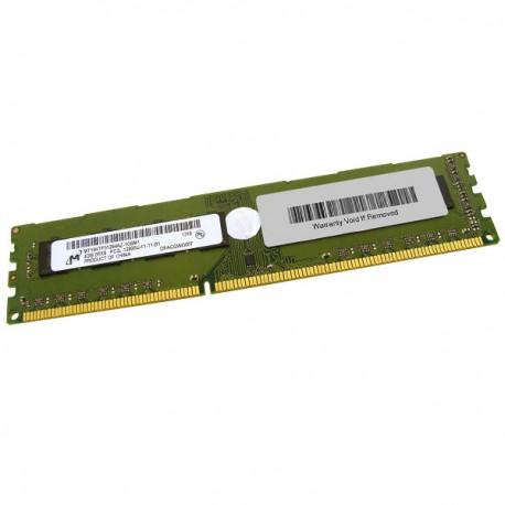 4Go RAM PC Bureau MICRON MT16KTF51264AZ-1G6M1 DDR3 PC3-12800U 2Rx8 1600Mhz CL11
