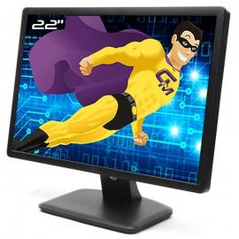 "Ecran PC 22"" DELL E2213c 0KN2Y3 KN2Y3 TFT TN VGA DVI-D VESA 1680x1050 16:10 Wide"