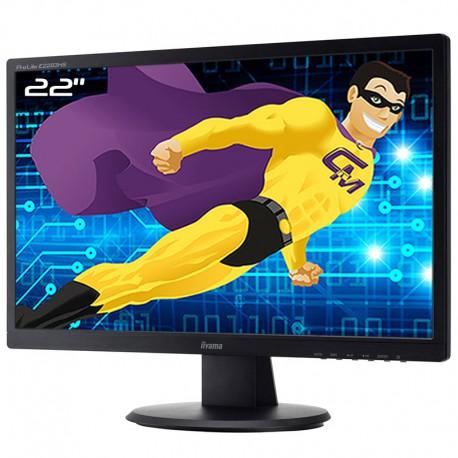 """Ecran PC 22"""" IIYAMA PL2283H E2283HS-B1 TFT TN VGA DVI-D HDMI VESA 1920x1080 16:9"""