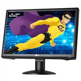 "Ecran PC 22"" LG Flatron W2234S-BN W2234SI LCD TFT TN VGA VESA 16:10 1060x1050"