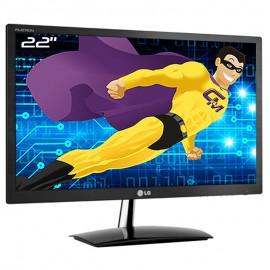 """Ecran PC 22"""" LG Flatron E2251VQ-BN E2251VZ TFT TN VGA DVI-D HDMI 16:9 1920x1080"""
