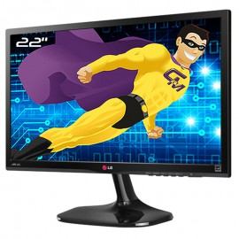 "Ecran PC Pro 22"" LG Flatron 22MP55HQ-P 22MP55HA LCD LED VGA HDMI 16:9 1920x1080"