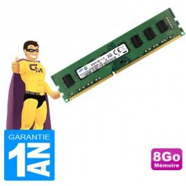 8Go RAM Samsung M378B1G73DB0-CK0 PC3-12800U 1600Mhz 2Rx8 CL11PC Bureau