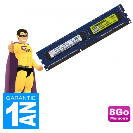 8Go Ram Serveur HYNIX HMT41GU7AFR8C-RD DDR3 ECC PC3-14900E 2Rx8 CL13 240-PIN