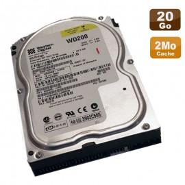 """Disque Dur 20Go IDE ATA 3.5"""" Western Digital Protege WD200EB-11CPF0 5400RPM 2Mo"""