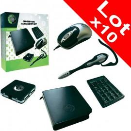 Lot x10 Souris Optique Hub Usb Pavé Numérique Casque Micro Pc Portable