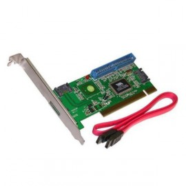 Carte Contrôleur Pci 32 bits Serial Sata / ATA ADVANCE PCI-ST101 3X SATA 1X IDE