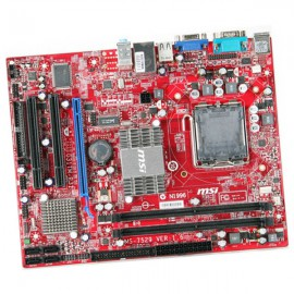 Carte Mère PC MSI MS-7529 MS7529 G31TM-P35 MotherBoard