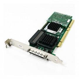 Carte contrôleur SCSI RAID DELL J4588 PERC4/SC PCI-X Ultra320 LVD SER502 REV 80