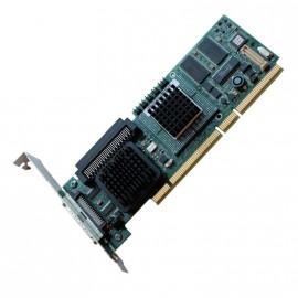 Carte contrôleur SCSI RAID DELL J4588 PERC4/SC PCI-X Ultra320 LVD 64Mb SDRAM