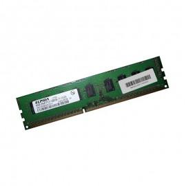 4Go RAM ELPIDA EBJ41EF8BDWA-GN-F DDR3 PC3-12800E ECC 1600Mhz 2Rx8 CL11 Serveur