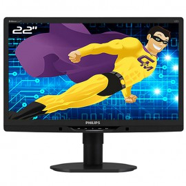 "Ecran PC 21,5"" PHILIPS 221B3L 221B3LPCB/02 LCD TFT VGA DVI-D VESA 1920x1080 16/9"