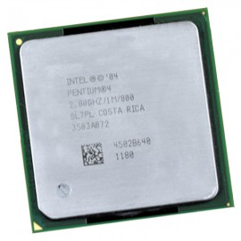 Processeur CPU Intel SL7PL Pentium 4 2.8Ghz 1Mo 800Mhz Socket PGA 478 PC