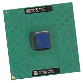 Processeur CPU Intel SL5XQ Celeron 1.0Ghz 128Ko 100Mhz Socket 370 PC