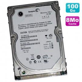 "Disque Dur 100Go IDE 2.5"" Seagate Momentus 7200.1 ST910021A 0CH007 PC Portable"