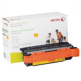 Cartouche Toner XEROX 106R02219 CE262A HP CP4025/CP4525 Color LaserJet JAUNE