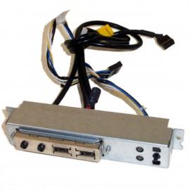 Front Panel I/O HP DC5100 MT C13457REV.A 384747-002 2x USB Power Switch 2x LED
