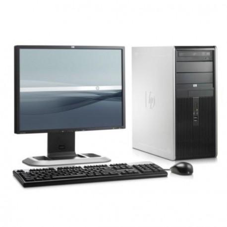 """Lot PC HP Compaq DC5750 Tour AMD Sempron 2Ghz 2Go DDR2 80Go XP Pro + Ecran 17"""""""