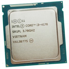 Processeur CPU Intel Core I3-4170 3.7Ghz 3Mo 5GT/s LGA1150 Dual Core SR1PL