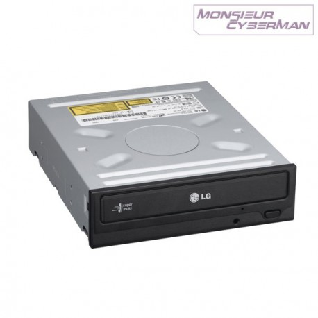 Graveur interne DVD±RW DL LG Super Multi DVD Rewriter GH22NS50 48x SATA Noir