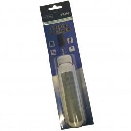 Haut-Parleur Enceinte Jack 3.5 evKenio ET-100 Gris PC Mac Tripod Speakers NEUF