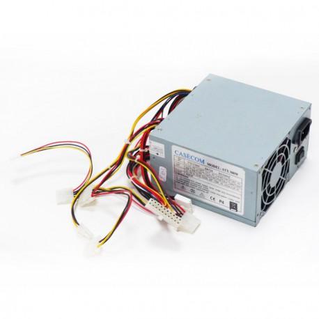 Boitier Alimentation ATX CASECOM ATX300W 300W Molex Floppy Power Supply