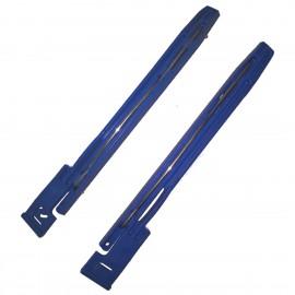 Lot 2x Rails Fixation Disque Dur 910667-09A 910668-09A Bleus HDD Fixation Rails