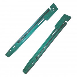 Lot 2x Rails Fixation Disque Dur 910667-09A 910668-09A Noirs HDD Fixation Rails