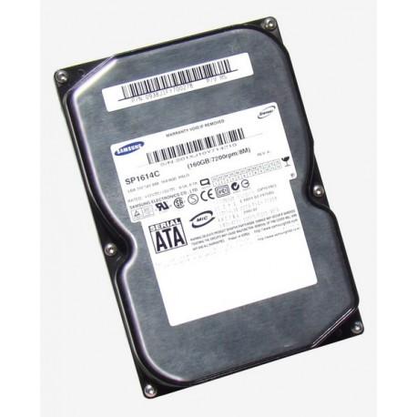 "Disque Dur interne 160Go 3.5"" SATA SAMSUNG SP1614C SpinPoint 8Mo 7200 RPM"