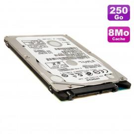 Disque Dur 250Go SATA 2.5 Hitachi HTS543225A7A384 Z5K320 0A78602 PC Portable 8Mo